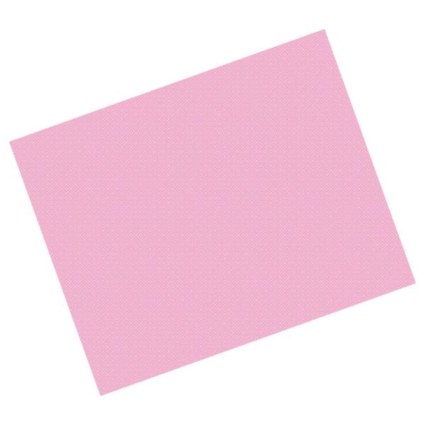 manteles en hojas 48 g/m2 80x80 cm rosa celulosa (500 unid.)