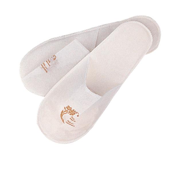 chaussons 'touch of charm' 27x12 cm blanc airlaid (2 unitÉ)