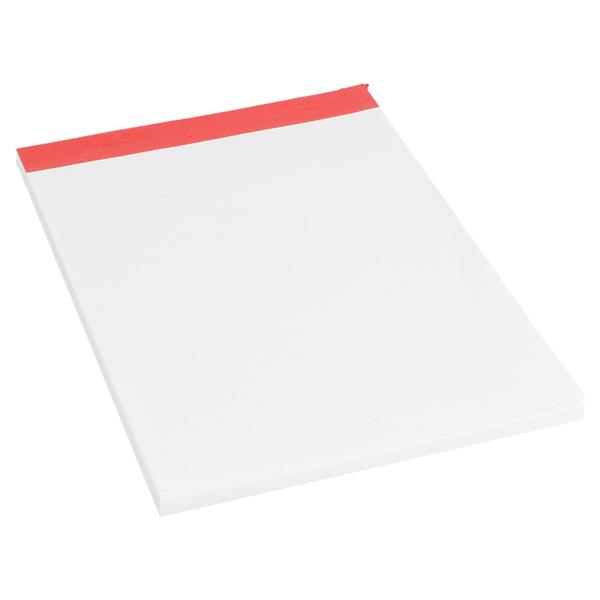 blocs notes (1/8) 80 feuilles 15,7x10,5 cm blanc papier (120 unitÉ)