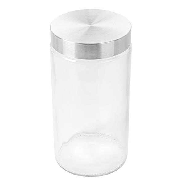 tarro almacenar cilÍndrico 1700 ml Ø 11,2x22 cm transparente cristal (12 unid.)