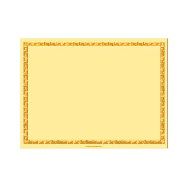 mantelines 60 g/m2 30x40 cm amarillo pÁlido airlaid (800 unid.)