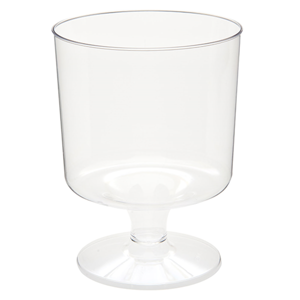 copas inyectadas 170 ml Ø 6,6x8,6 cm transparente ps (540 unid.)