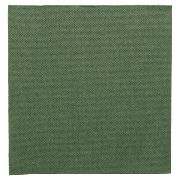 servilletas ecolabel 'double point' 18 g/m2 39x39 cm verde jaguar tissue (1200 unid.)