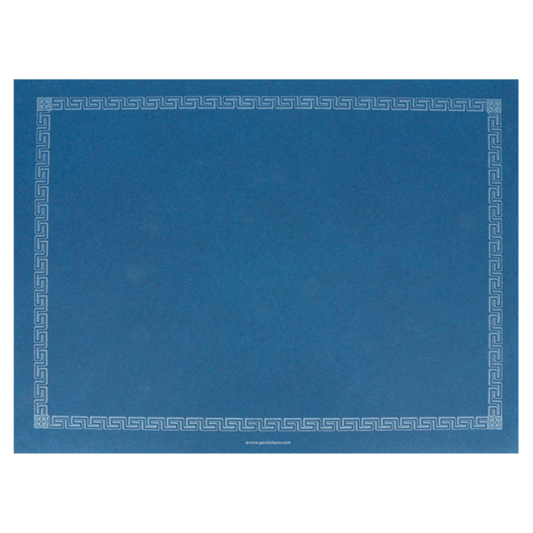 mantelines 60 g/m2 30x40 cm azul marino airlaid (800 unid.)