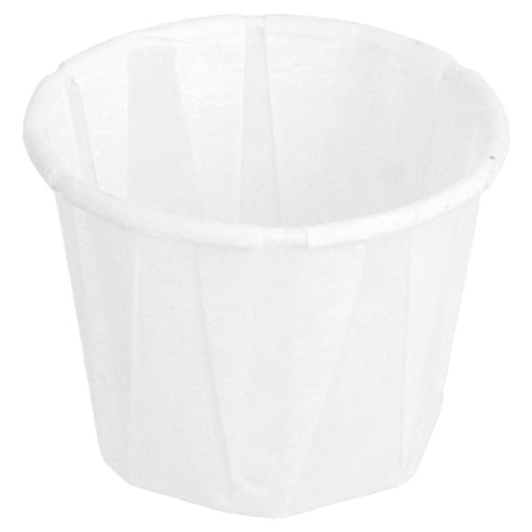 tarrinas papel plisado 22 ml Ø3,8x2,8 cm blanco perg. antigrasas (250 unid.)