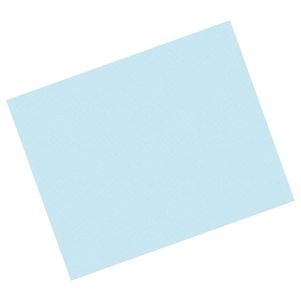 manteles en hojas 48 g/m2 60x60 cm azul celeste celulosa (500 unid.)