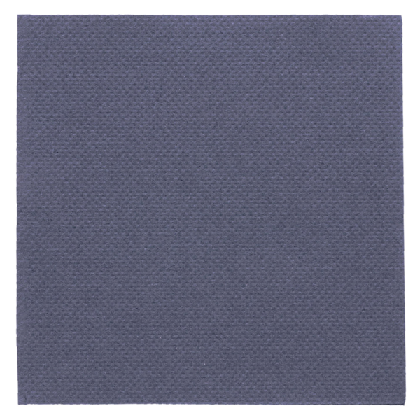 servilletas ecolabel 'double point' 18 g/m2 20x20 cm azul marino tissue (2400 unid.)