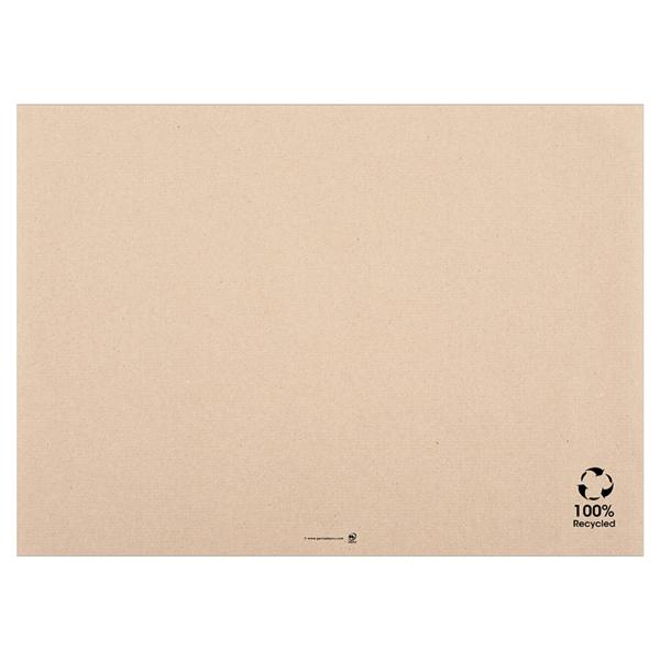 mantelines - reciclados 48 g/m2 31x43 cm natural papel (2000 unid.)
