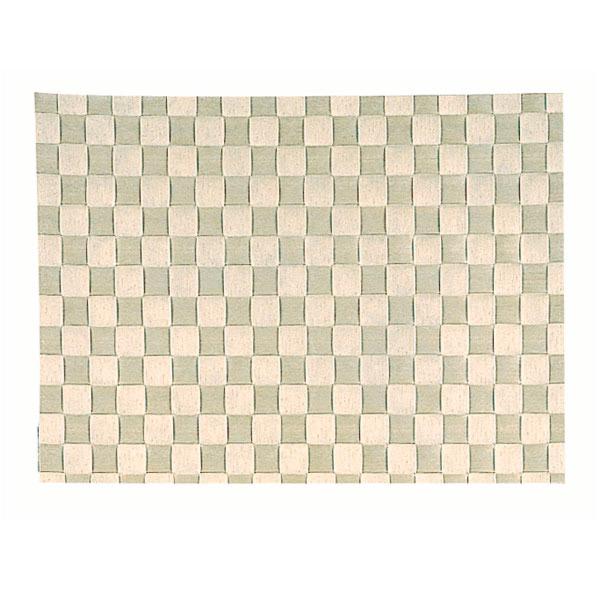 plaited rafia table mat 30,3x42,70 cm beige raffia (1 unit)