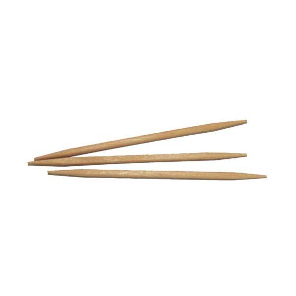palillos redondos 6,8 cm natural madera (1000 unid.)