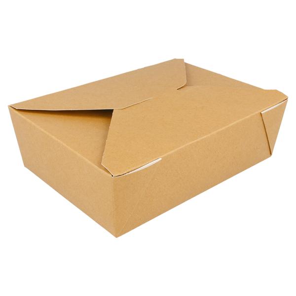 cajas americanas micro. 1980 ml 300 g/m2 + 12pp 19,8x14x6,4 cm marrÓn cartoncillo (50 unid.)