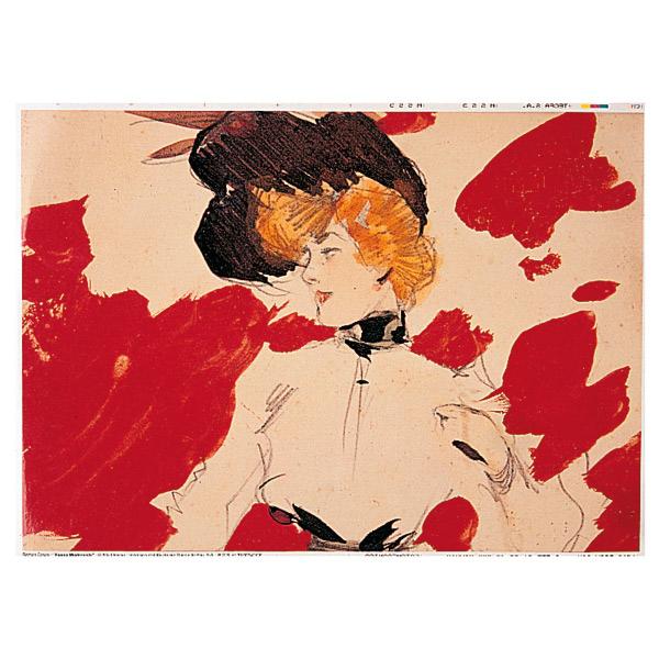 mantelines offset 'art nouveau' 70 g/m2 31x43 cm cuatricromÍa papel (2000 unid.)
