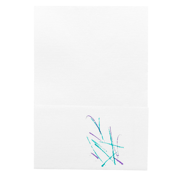 servilletas mini servis ecolabel 1 capa 'volare' 20 g/m2 17x17 cm blanco celulosa (9600 unid.)
