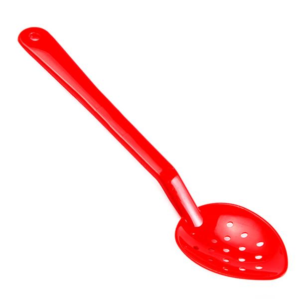 cuillÈre perforÉe service 33,3 cm rouge polycarbonate (1 unitÉ)