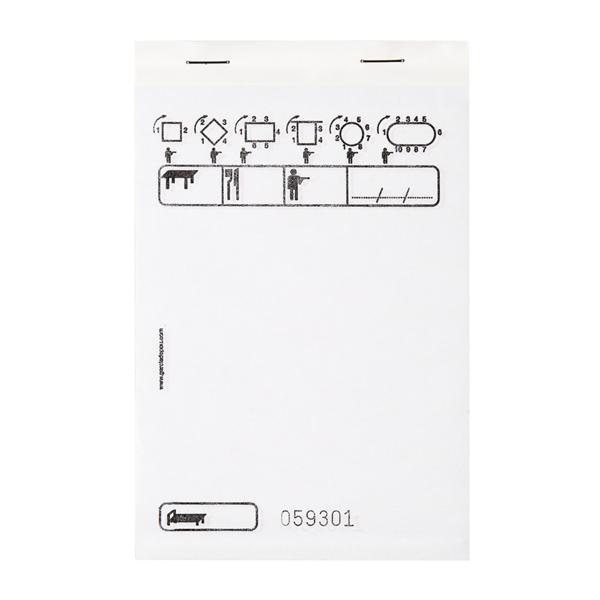 blocs commandes standard dupli 50x2 feuilles 10x15 cm blanc autocopiant (100 unitÉ)