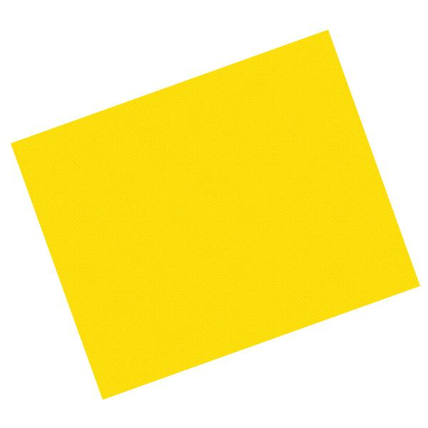 manteles en hojas 48 g/m2 80x80cm amarillo intenso celulosa (500 unid.)