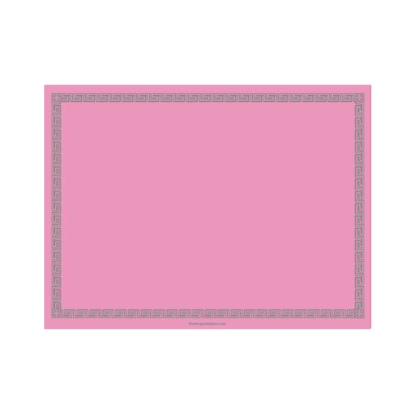mantelines 60 g/m2 30x40 cm rosa airlaid (800 unid.)