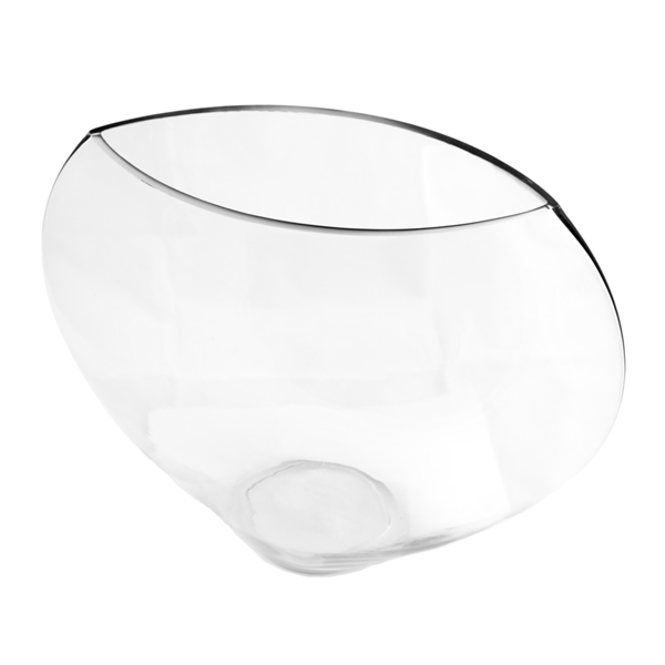 semiesfera decoraciÓn Ø 39,8x33 cm transparente cristal (1 unid.)