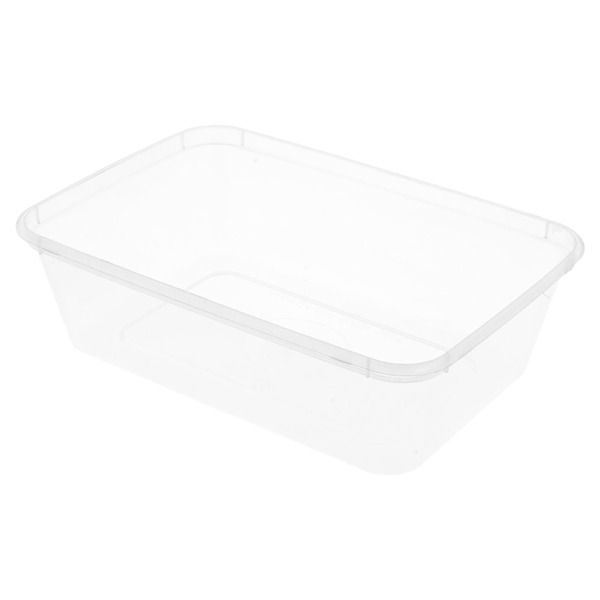 recipientes rectangulares 650 ml 17,5x12x4,5 cm transparente pp (500 unid.)