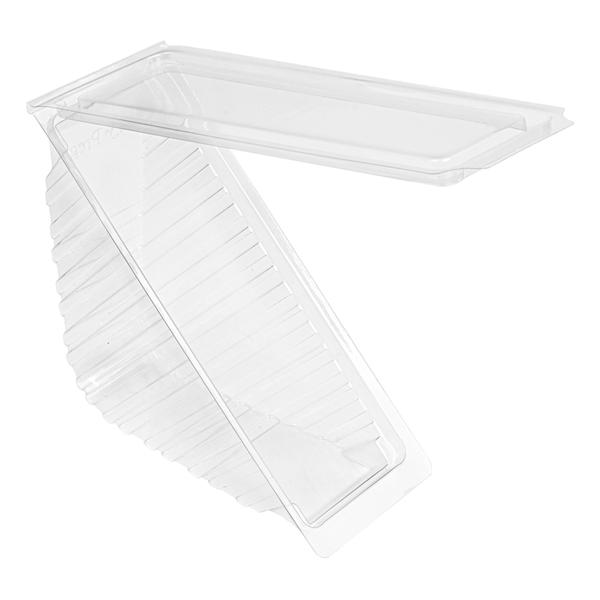 envases sÁndwiches triangulares estÁndar 11x11x5,5 cm transparente rpet (500 unid.)