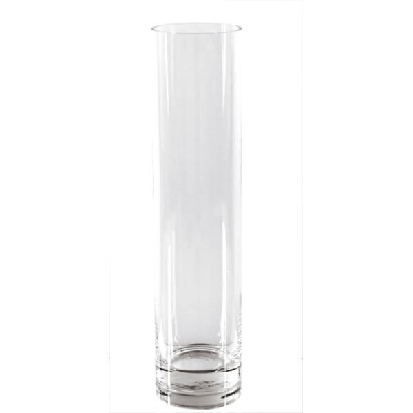 decoraciÓn gigante - cilindro Ø 10x60 cm transparente cristal (1 unid.)