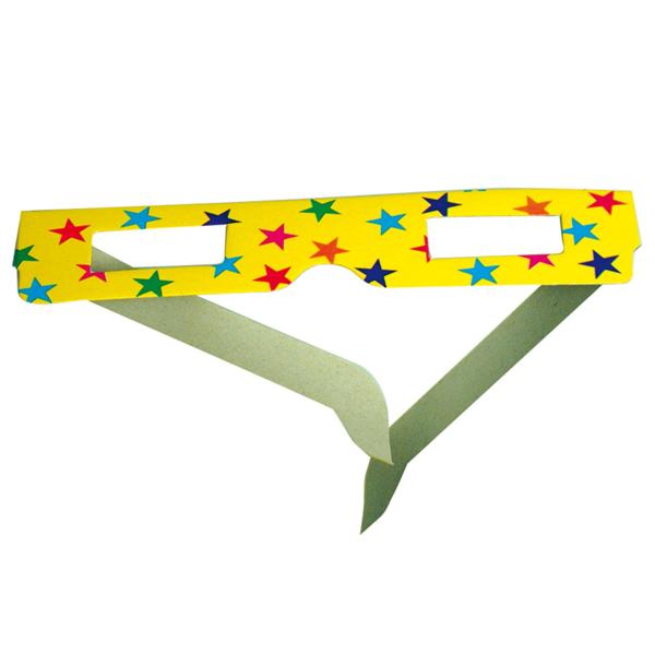 24 packs de 6 lunettes enfants 15,3x10,2 cm assorti papier (1 unitÉ)