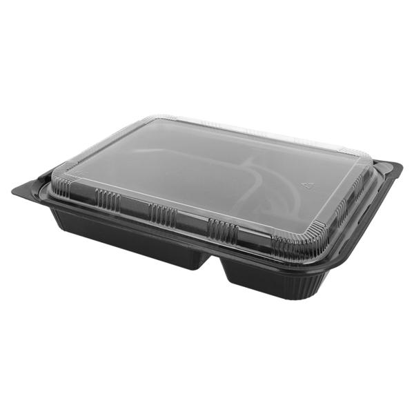 recipienti take away eco 27x20,6x5 cm nero pp (300 unitÀ)