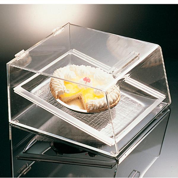 expositor pastelerÍa 1 piso 39x35x21 cm transparente acrÍlico (1 unid.)