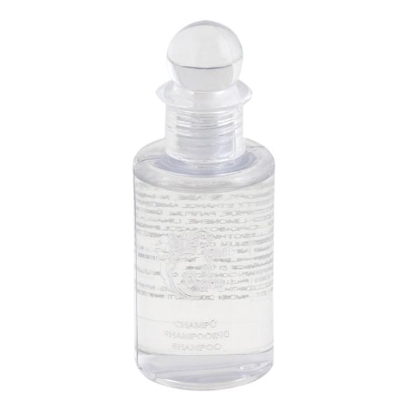 flacons shampooing 'touch of charm' 30 ml 8 cm transparent plastique (300 unitÉ)