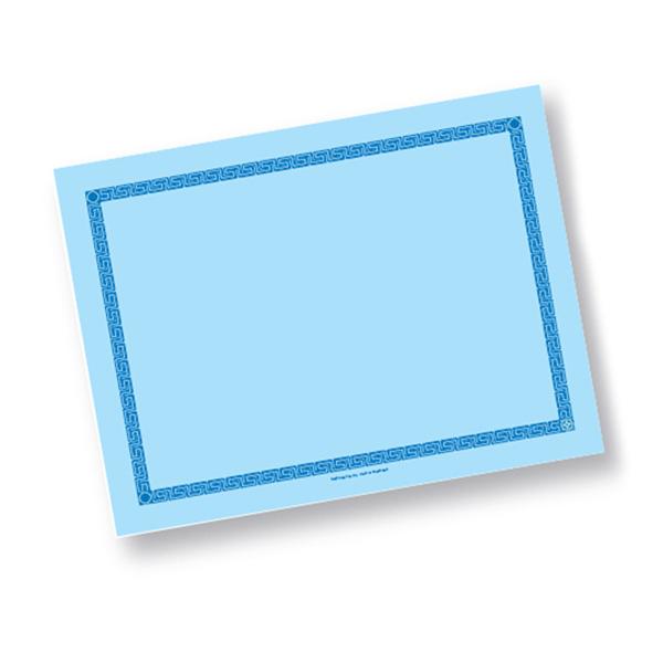 mantelines 60 g/m2 30x40 cm azul celeste airlaid (800 unid.)