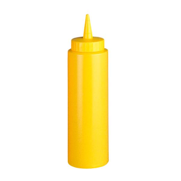 peras para salsas 240 ml Ø 5x18,2 cm amarillo pehd (6 unid.)