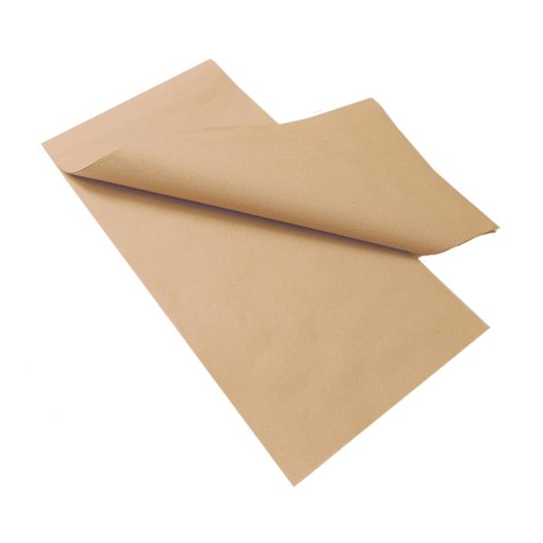 manteles plegado m 48 g/m2 80x80 cm natural papel reciclado (200 unid.)