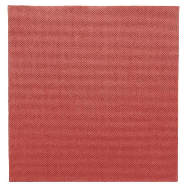 servilletas ecolabel 'double point' 18 g/m2 39x39 cm burdeos tissue (1200 unid.)