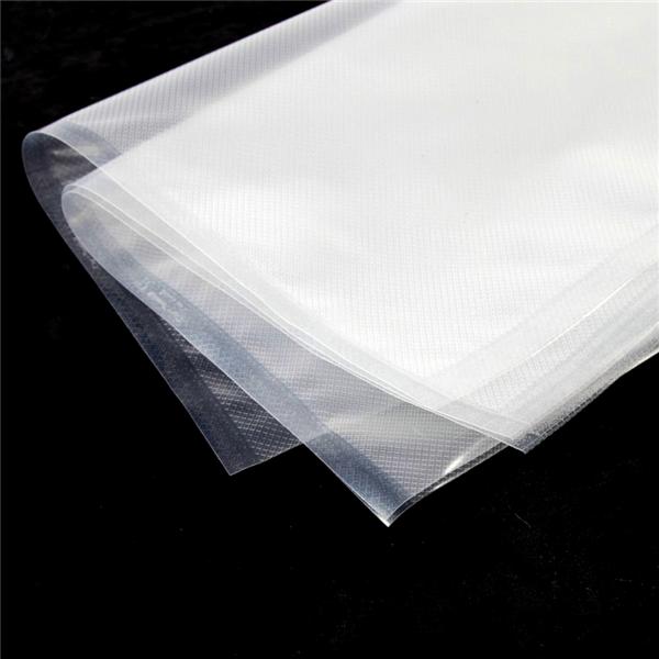 bolsas vacÍo, gofradas 180 g/m2 90µ 27x50 cm transparente pa/pe (100 unid.)