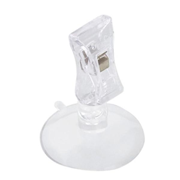 pinces avec ventouse Ø 4,7x6 cm transparent (10 unitÉ)