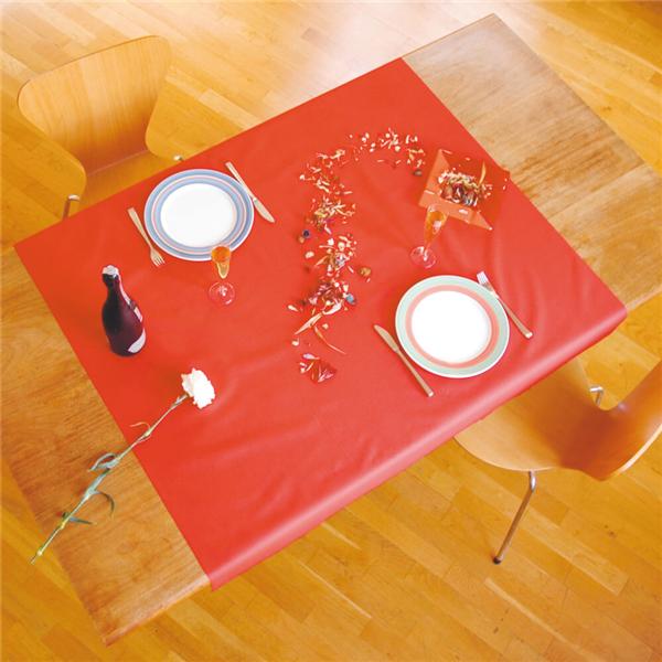 manteles 48 g/m2 60x60 cm rojo celulosa (500 unid.)