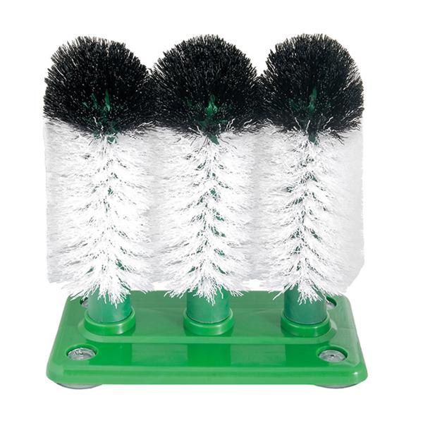 base+3 cepillos lavar vasos 19x9,9x19 cm poliÉster (1 unid.)
