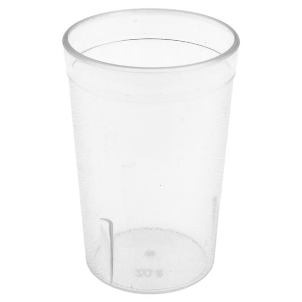 vasos 240 ml Ø 6,2x9,9 cm translÚcido san (72 unid.)