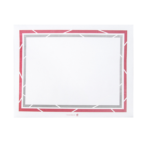 mantelines para bandejas 'self-service' 48 g/m2 25x31 cm blanco papel (2000 unid.)