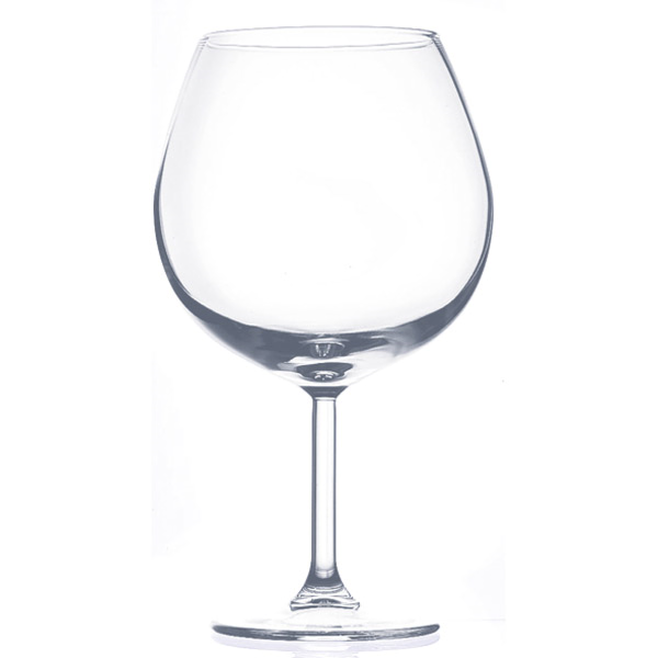 decoraciÓn gigante - copa vino Ø 18,5x40 cm transparente cristal (1 unid.)