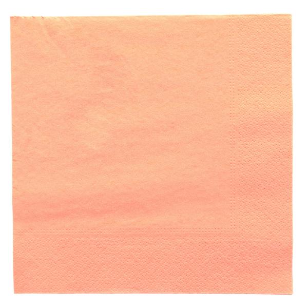 servilletas ecolabel 2 capas 18 g/m2 39x39 cm salmÓn tissue (1600 unid.)