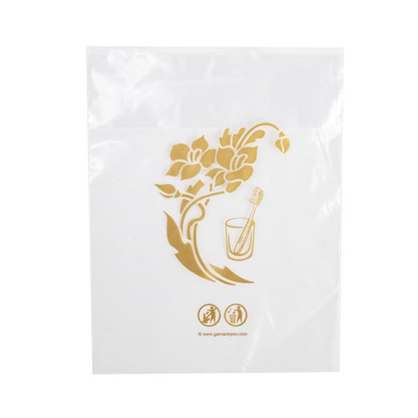 sachets protection de gobelets 'touch of charm' 13,3x17 cm transparent peld (1000 unitÉ)
