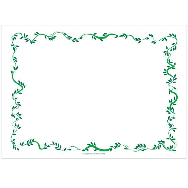 mantelines 'floralia' 48 g/m2 31x43 cm blanco celulosa (2000 unid.)