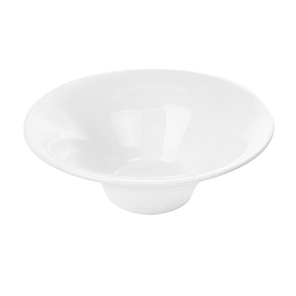 boles estriados 500 ml Ø 20,4x7,3 cm blanco porcelana (4 unid.)