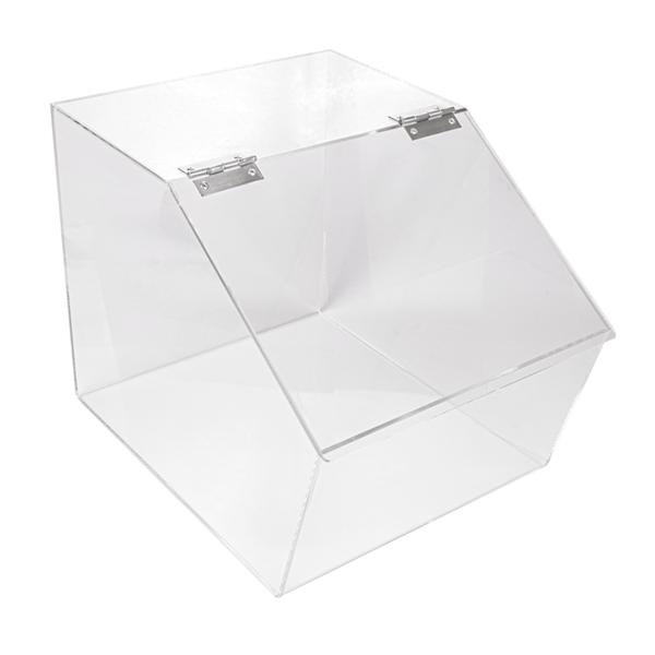 dispensador productos a granel 32x41x32 cm transparente acrÍlico (1 unid.)