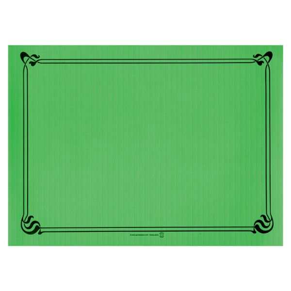 mantelines 48 g/m2 31x43 cm verde pradera celulosa (2000 unid.)