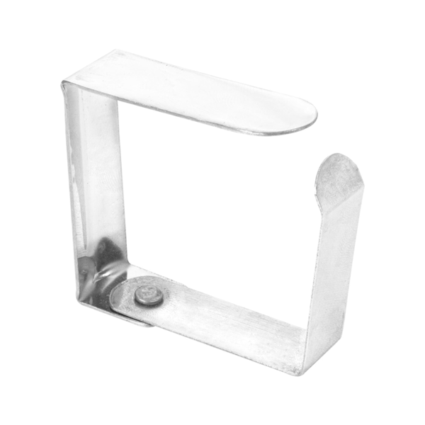 pinzas sujeta manteles 4,7x4x1,2 cm metal acero (144 unid.)