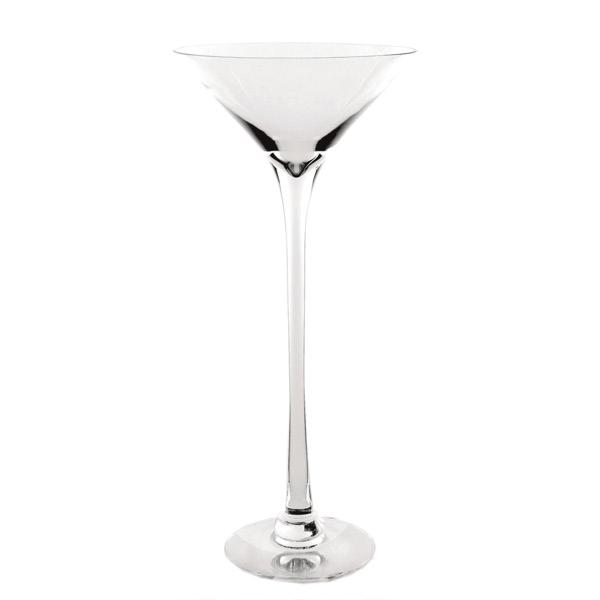 decoraciÓn gigante - copa martini Ø 31x80 cm transparente cristal (1 unid.)