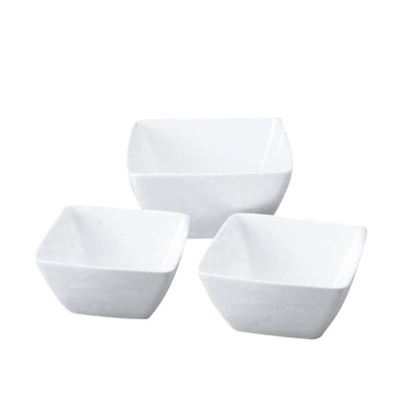 bol 1800 ml 20x20x10 cm blanco porcelana (1 unid.)