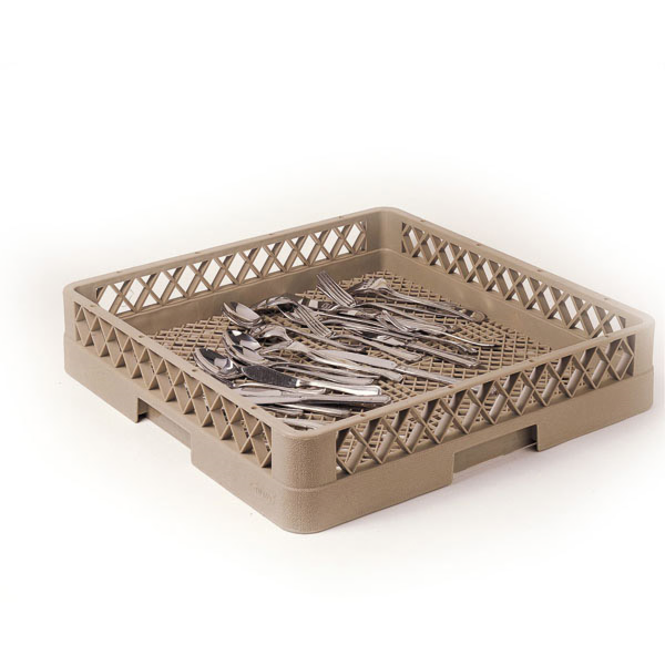 rack lavavajillas para cubiertos 50x50x10 cm beige pp (1 unid.)